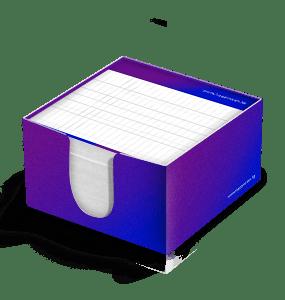 Magna Basım Küp Bloknot